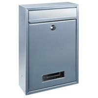 Rottner Tarvis Silver - Steel Post Box