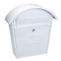 Rottner Jesolo White - Steel Post Box