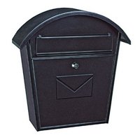 Rottner Jesolo Anthracite - Steel Post Box