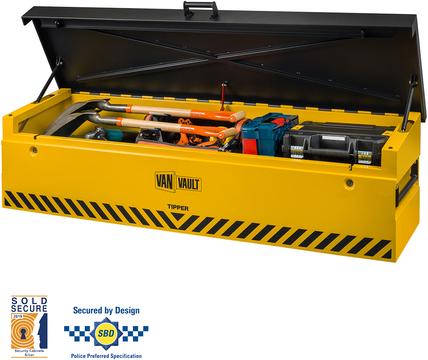262456e641d47d Van Vault Tipper High Security Vanbox for Pick-ups and Tipper Vans ...