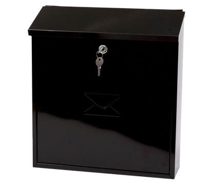 the letter of the day severn black post box free next day delivery 25180