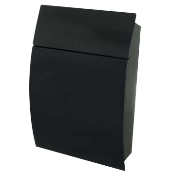 Tweed Black Post Box Contemporary Black Post Box Free