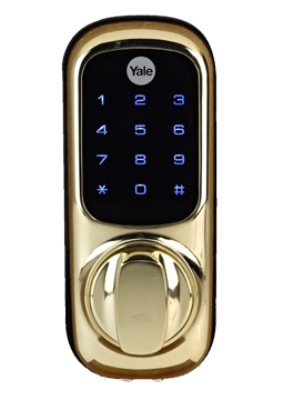 yale keyless digital door lock with nightlatch touch keypad wireless please read. Black Bedroom Furniture Sets. Home Design Ideas