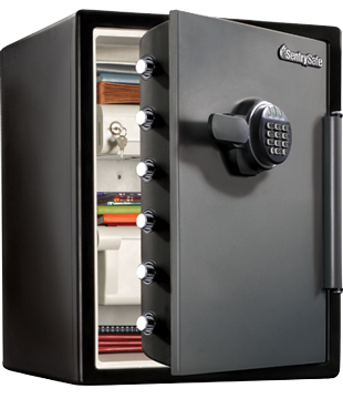 sentry big bolts sfw205fyc fire safe large capacity waterproof and fire resistant by sentry safes. Black Bedroom Furniture Sets. Home Design Ideas