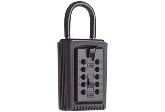 Portable Keysafe Temporary Shackle Mount Mini Key Safe