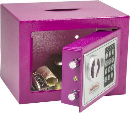 Bubblegum Pink Safe Kids Pink Safes Great Childrens