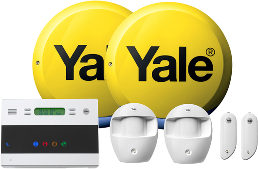 yale easy fit home alarm telecommunicating alarms free. Black Bedroom Furniture Sets. Home Design Ideas