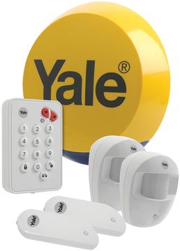yale easy fit standard alarm ef kit1 wireless yale alarm. Black Bedroom Furniture Sets. Home Design Ideas