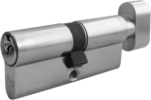 Brass, 35 x 35 Euro Lock Thumb Turn Barrel Keyed Alike
