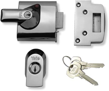 Yale Night Latch Pbs1 Auto Deadlocking Door Lock Free