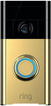 Ring Video Doorbell - Polished Brass