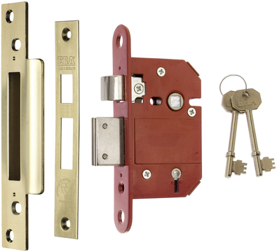 20 Keys Pack of 10 Keyed Alike 2 Lever 64mm Nickel Door Locks Same Key Lock