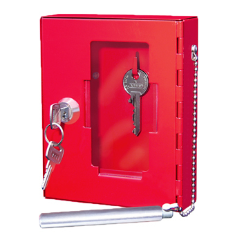 how to break into a key safe