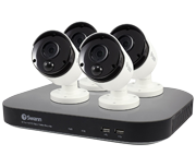 Swann DVR-4980 4 Channel 5 Megapixel - 4 Camera True Detect CCTV Kit